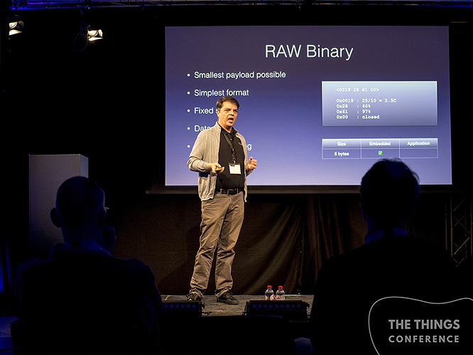 MyDevices  Eric Ptak - Payload formats for LPWAN Applications