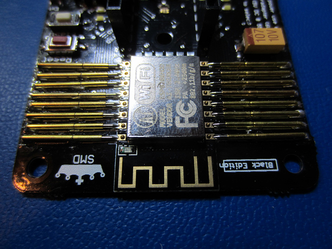 Flex NodeMCU ESP8266 - module installed