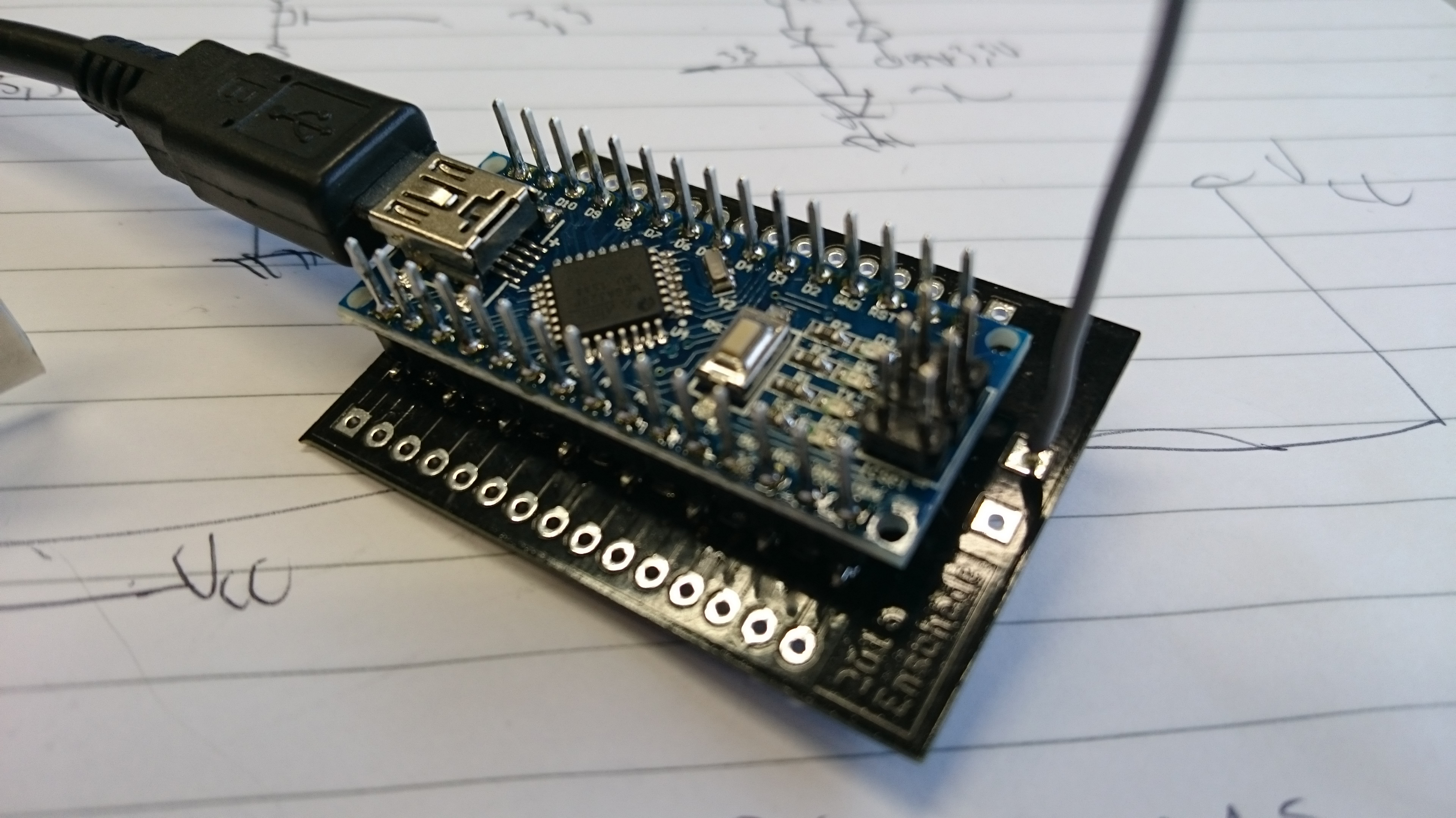 How to build your first TTN node: Arduino + RN2483 - Hardware - The