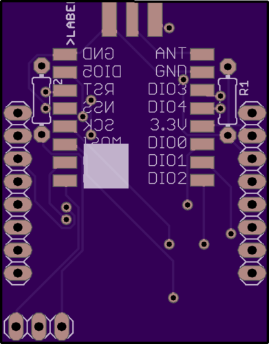 Designing a breakout board for the ESP32 / RFM9X - Hardware