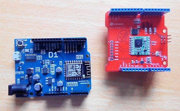 Node with ESP8266 and RFM95W - Hardware - The Things Network