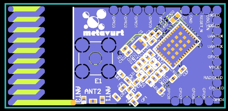 865-868MHz Patch Antenna on PCB - End Devices (Nodes) - The