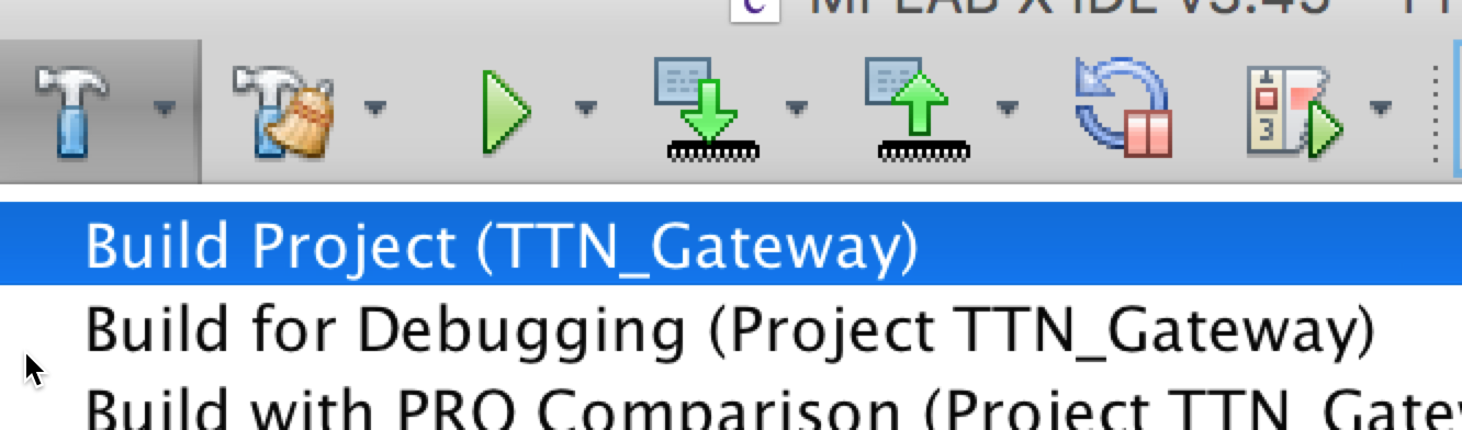Building the TTN Gateway firmware from the GitHub code - The Things