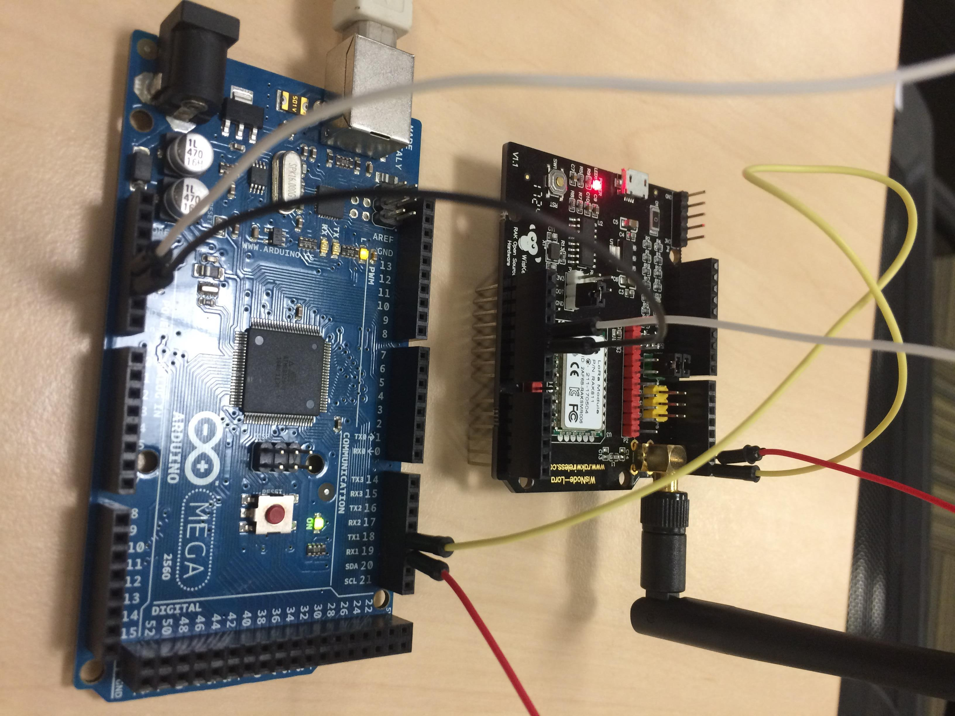 Node RAK811+Arduino - End Devices (Nodes) - The Things Network