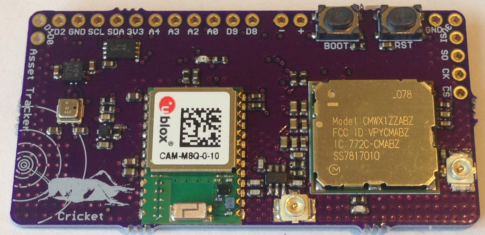 Arduino core for CMWX1ZZABZ-078-based LoRaWAN devices - End