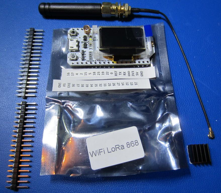 Wifi Lora Kit 32 868 - package