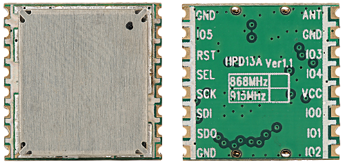 HPDTek HPD13A-868S module front and back 500x238
