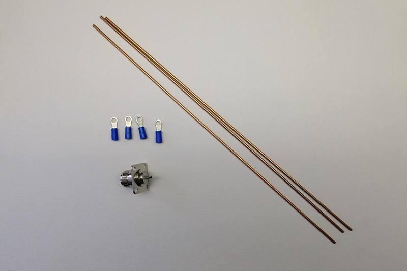 Very simple homemade outdoor 868Mhz antenna (groundplane) - Gateways