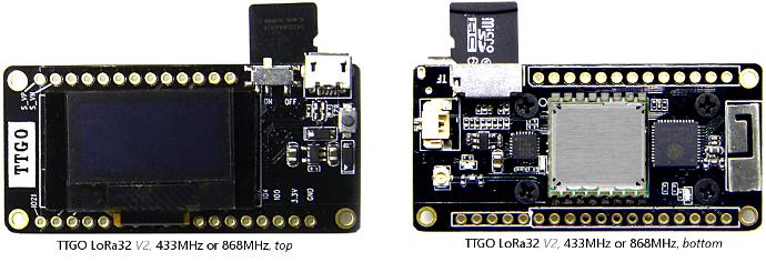 Big ESP32 + SX127x topic part 3 - End Devices (Nodes) - The