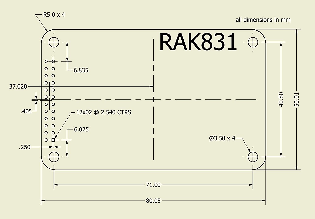 The Hard Rak831 Cafe Part 1 Gateways Things Network Case 540 Wiring Diagram I Drop This Here In Someone Else Needs It As Dwg File Was Missing Connector Location So Made One That States Them They Appear