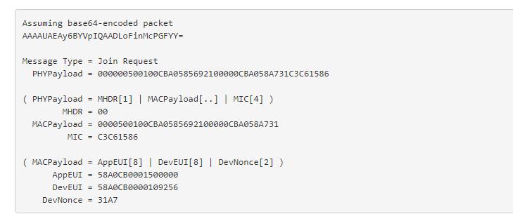 Tasbs decode