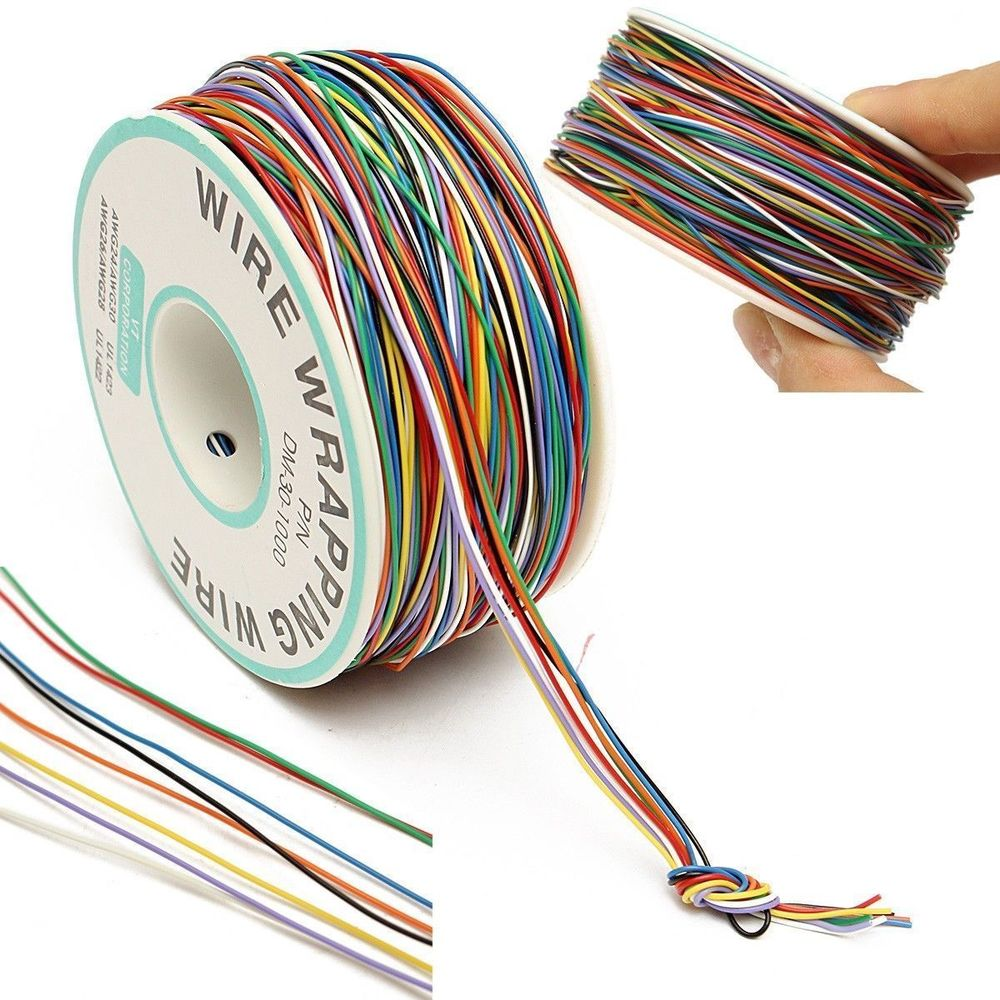 The Bargain Basement Part 4 Hardware Things Network Wiring For P N B 30 1000 30awg Tin Plated Copper 8 Wire Colored Insulation Test Wrapping