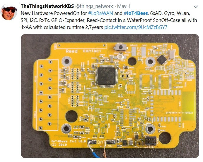 IoT4Bees