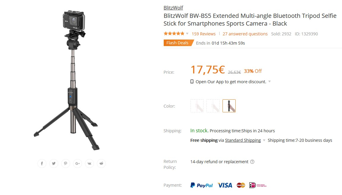 BlitzWolf%20BW-BS5%20Extended%20Multi-angle%20Bluetooth%20Tripod