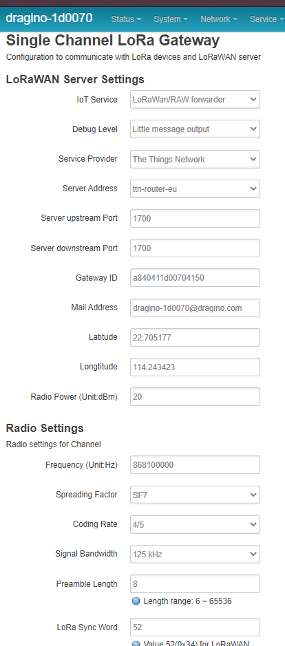 dragino-1d0070 - LoRaWan GateWay - LuCI - Google Chrome 02.03.2021 10_37_17 (2)