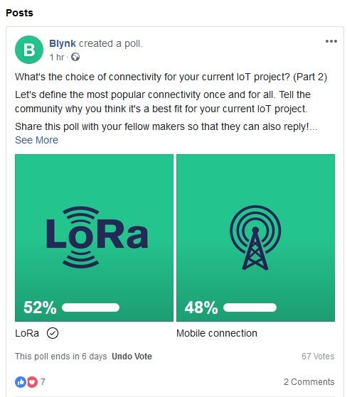 blynk-poll