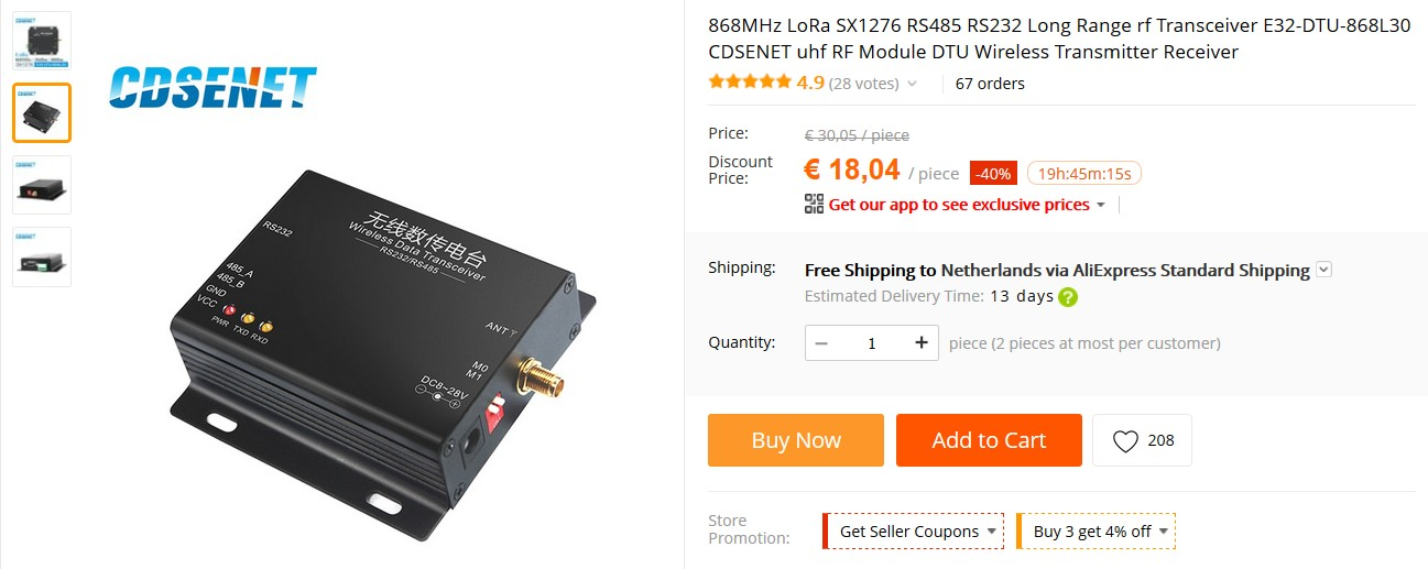 868MHz%20LoRa%20SX1276%20RS485%20RS232%20Long%20Range%20rf%20Transceiver